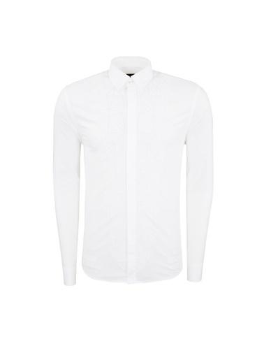 Frankie Morello Gömlek Beyaz